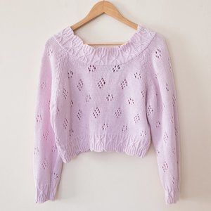 Vintage Nuovo Pink Cropped Sweater